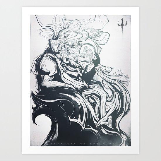 Sentinel of the Tide Art Print