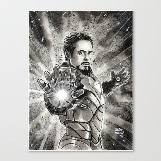 Iron-Man Canvas Print