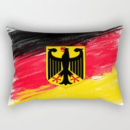 Germany's Flag Design Rectangular Pillow