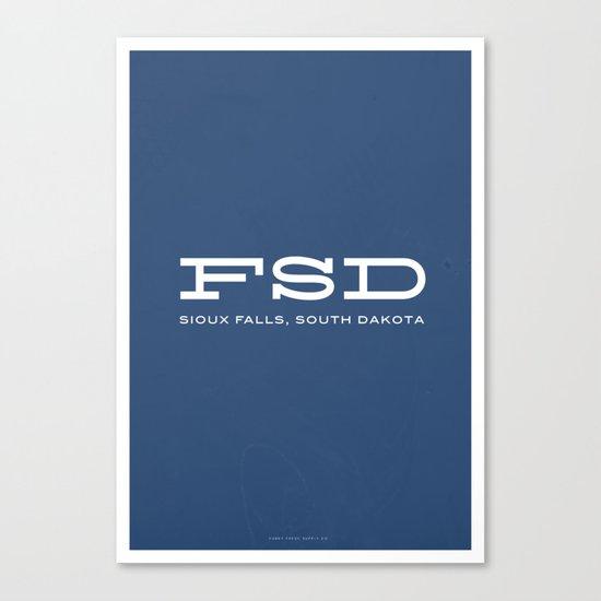 FSD Canvas Print