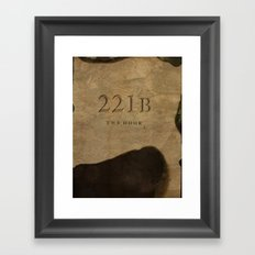 No. 6. 221B Framed Art Print