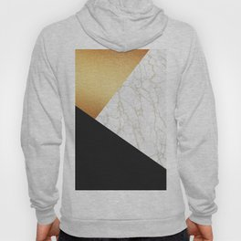 GOLDEN MARBLE TRIANGLE Hoody