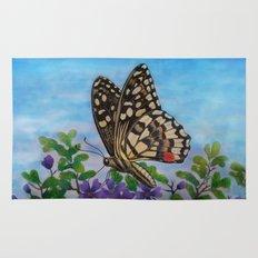 Chequered swallowtail  Rug