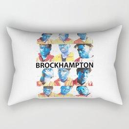 Brock Hampton Poster Rectangular Pillow