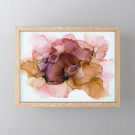 Earthy splash Framed Mini Art Print