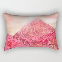 Lines in the mountains XXIII Rectangular Pillow