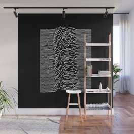 Joy Division - Unknown Pleasures Wall Mural