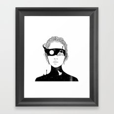 If I Could Just See You from Up Here Framed Art Print
