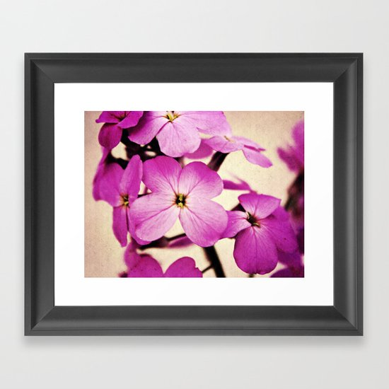Potent Purple Framed Art Print