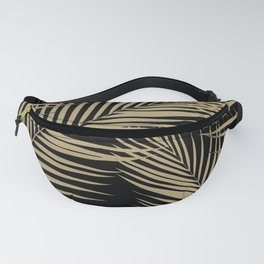 Palm Leaves - Gold Cali Vibes #2 #tropical #decor #art #society6 Fanny Pack