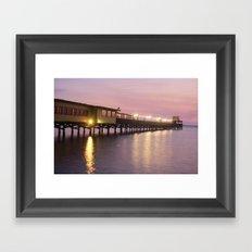 Pier 19 - Dusk Framed Art Print