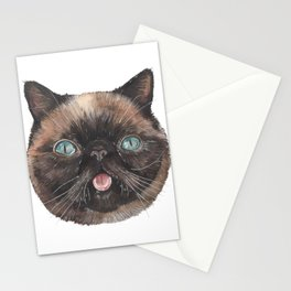 Der the Cat - artist Ellie Hoult Stationery Cards