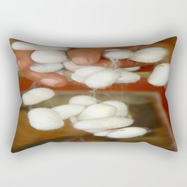 Mullberry Silkworm Cocoons Rectangular Pillow