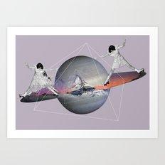 MAGIC ROLLER  Art Print