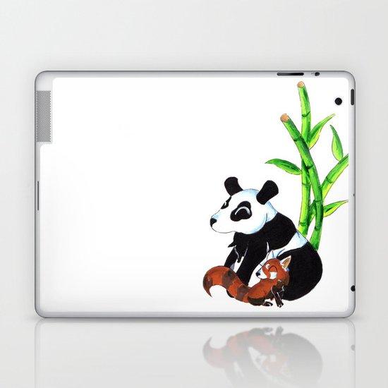 Panda Duo Laptop & iPad Skin