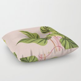 Upstart / Tropical Plant Floor Pillow