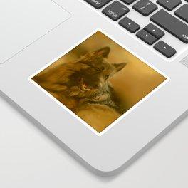 Golden King Shepherd Sticker
