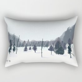Breathe In The Winter View Rectangular Pillow