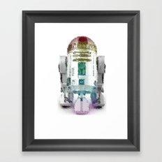 UNREAL PARTY 2012 R2D2 R2-D2 STAR WARS Framed Art Print