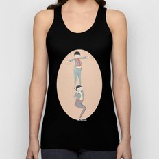 Elvin and Elroy Unisex Tank Top