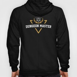 DnD Dungeon Master Dungeons and Dragons Inspired Tabletop RPG Gaming Hoody