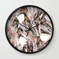 3d Wall Clocks featuring Arnsdorf SS11 Crystal Pattern by RoAndCo