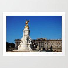 Buckingham Palace 2 Art Print