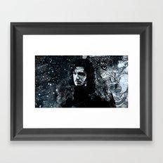 Winter's Coming Framed Art Print