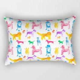 Happy Dogs Rectangular Pillow