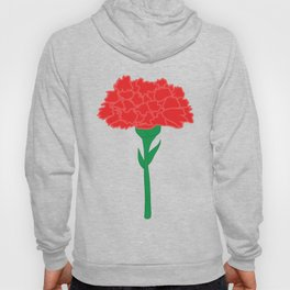 Carnation Illustration Hoody