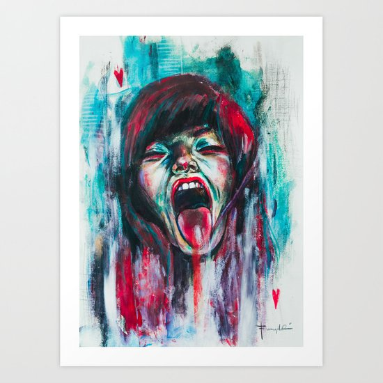 Compulsion Art Print