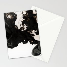 black sea | ink painting Stationery Cards