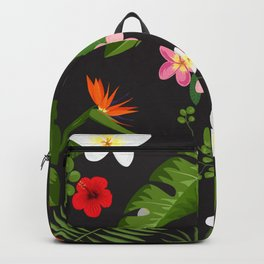 Tropical Flower Background 6 Backpack