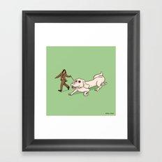 Neverending Dog Show Framed Art Print