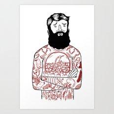 Matt the Hack Art Print