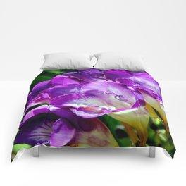 Royal Purple - The Prince Of Freesias Comforters
