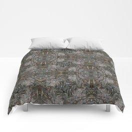 Feathers and bones -Desert sand Comforters
