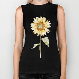 Sunflower 01 Biker Tank