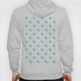 Blue Flowers Hoody