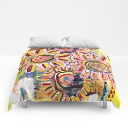 Floral Field Comforters