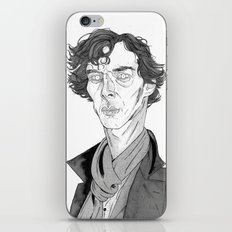 Benedict Cumberbatch - Sherlock iPhone & iPod Skin