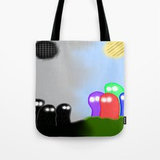 The Colorless Divide  Tote Bag
