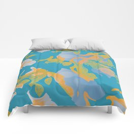 THE SHAPE OF WATER - TURQUOISE Comforters