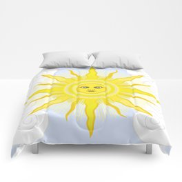 Sun in Splendour Comforters