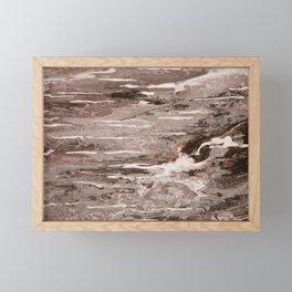 Mississippi muddy waters run swift Framed Mini Art Print
