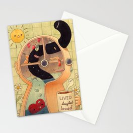Lived, Laughed, Loved Stationery Cards