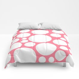 White Dots Comforters