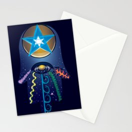 The Elemental Hamsa Stationery Cards