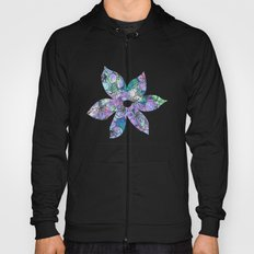 Little Purple Flowers Hoody