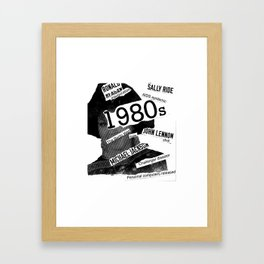 Misanthrope 80's Shirt Framed Art Print